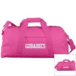 GOBABIES Liberty Bags Large Square Duffel Bag