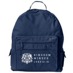 Kingdom Minded Bookbag