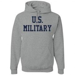 Simple US Military Sweatshirt