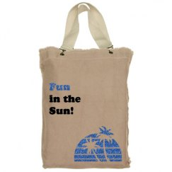 Fun in the sun beachbag