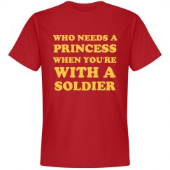 My Girlfriend Is A Soldier