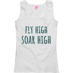 fly high soar high
