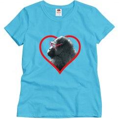 Gorilla Heart Woman's