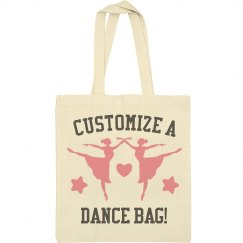 Custom Ballerina Tote Bag