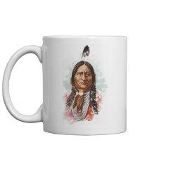 Hunkpapa Sioux Chief: Sitting Bull Coffee Mug