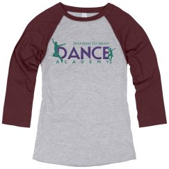 Inspired to Move 3/4 Sleeve Shirt