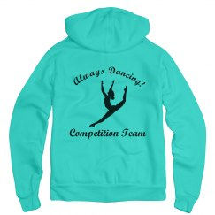 Competition Team Zip Up