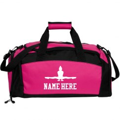 Custom Name Gymnastics Bag