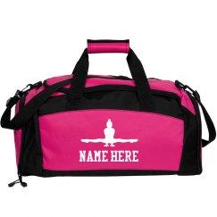 Custom Name Gymnastics Bag