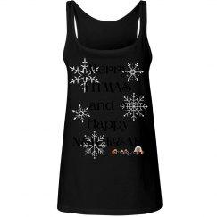 Merry Fitmas Women's Tank