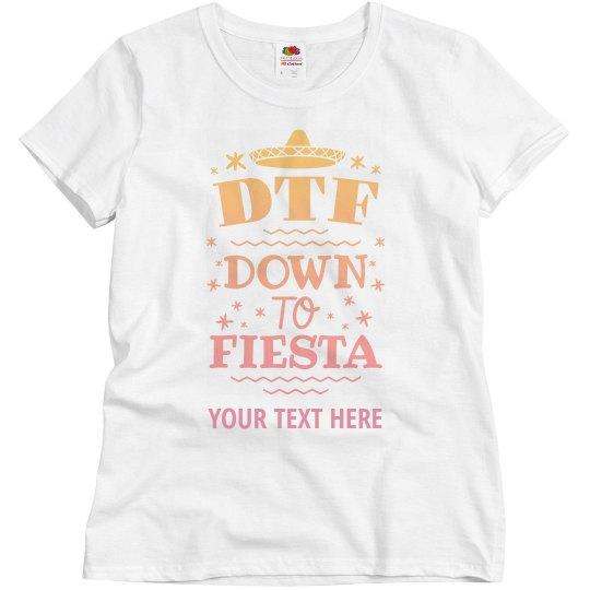 07450146d Custom Festive DTF Design Ladies Relaxed Fit Basic Promo T-Shirt