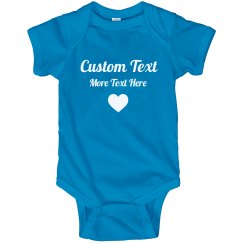 Personalized Mothers Day Onesie
