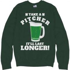 Funny St Patricks Day Bartender