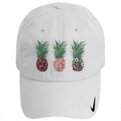pineapple nike hat
