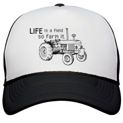 Life is a field Trucker