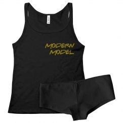 Modern Model Sleepwear Set