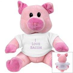 """""""I love Bacon"""" Piggie"""