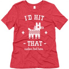 I'd Hit That Piñata Funny Custom Cinco De Mayo Tee