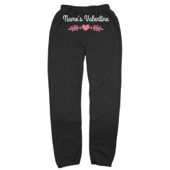 Custom Valentine's Day Comfy & Cozy Sweatpants