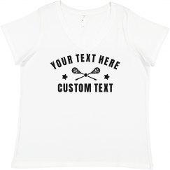 Customize A Lacrosse Design