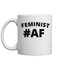 Feminist #AF Coffee Mug