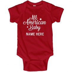 Cute Custom Fourth of July Outfit
