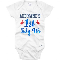 Custom Metallic 1st July 4th Outfit