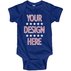Create Your Own July 4th Onesie