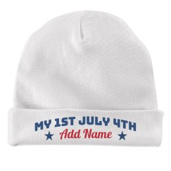 My 1st July 4th Custom Add Name