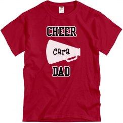 Cheer Dad with Megaphone