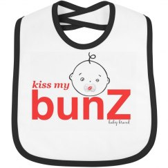 kiss my bunZ logo bib