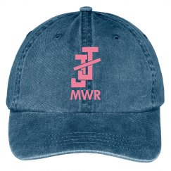 JJ Regional Hat - Navy w/Pink Text