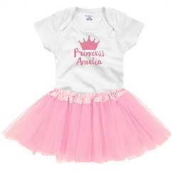Custom Baby Princess With Crown