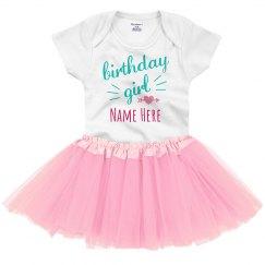 Custom Fancy Baby's Birthday