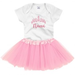 Custom Name Princess Onesie