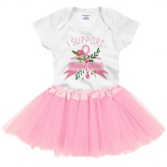 Custom Baby Breast Cancer Supporter