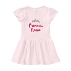 Princess Custom Baby Name Dress