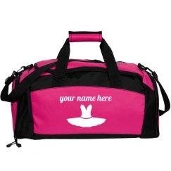 Custom Ballerina Dance Bag
