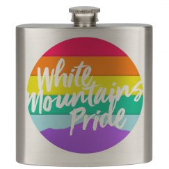 White Mountains Pride Flask