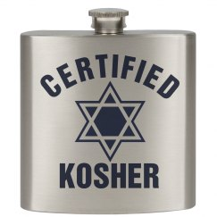 Certified Kosher Flask