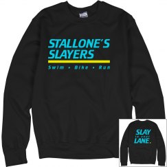 Triathlon Crewneck Black