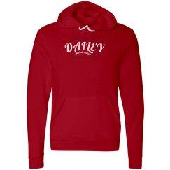 DM Women's Red Hoodie