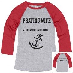 A praying wife