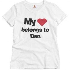 My heart belongs to Dan