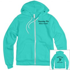 Teal zip up