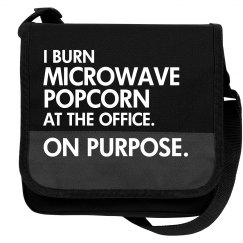 I Burn Office Popcorn