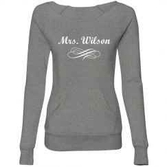 Mrs. Wilson Scroll