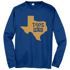 State Logo - Royal Blue - Long Sleeve/Sport-Tek