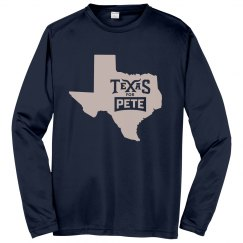 State Logo - Navy - Long Sleeve/Sport-Tek