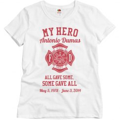 Firefighter Family Memorial Top